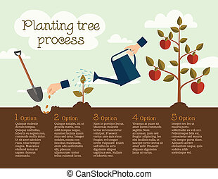 プロセス, 木を植えること