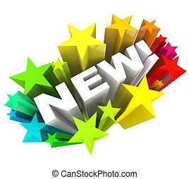 プロダクト, 単語, 発表, ブランド, 改善, 星, 新しい, ∥あるいは∥