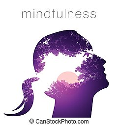プロフィール, 女, mindfulness