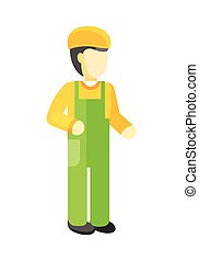 ヘルメット, 労働者, ユニフォーム