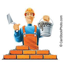 ヘルメット, 建築者