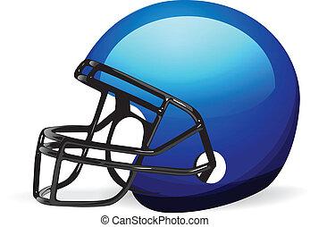 ヘルメット, 白, フットボール