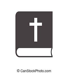 ベクトル, アイコン, 聖書