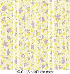 ベクトル, アスファルト, 抽象的, イラスト, 定型, 層にされる, 道, florals., higways