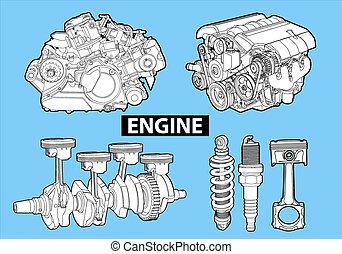 ベクトル, エンジン