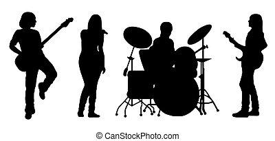 ベクトル, バンド, 歌うこと
