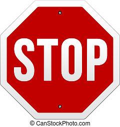 ベクトル, 一時停止標識