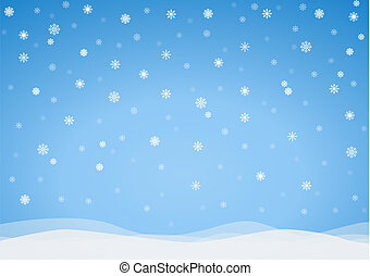 ベクトル, 凍りつくほどである, 背景, 雪片