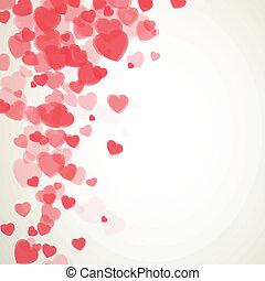 ベクトル, 日, カード, バレンタイン