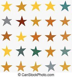 ベクトル, 星, コレクション