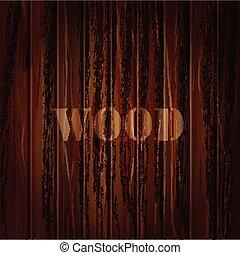 ベクトル, 木, text., texture., 背景