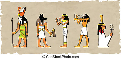 ベクトル, 神, セット, エジプト人