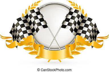 ベクトル, 競争, 銀, 紋章