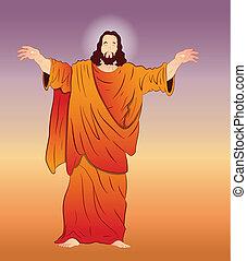 ベクトル, 芸術, キリスト, イエス・キリスト