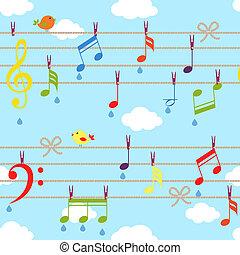 ベクトル, 音楽, 鳥
