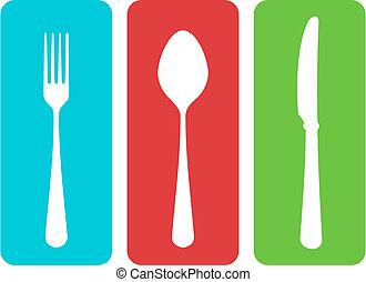 ベクトル, cutlery