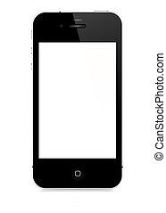 ベクトル, -, iphone, 4s