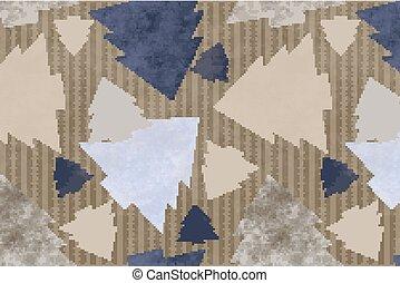 ベクトル, pattern., クリスマス, イラスト