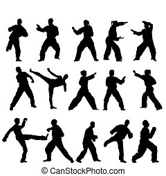 ベクトル, -, taekwondo-fighter