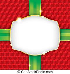ペーパー, プレゼント, 背景, 包むこと, クリスマス