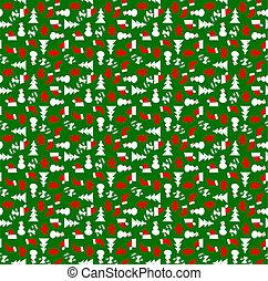 ペーパー, 包むこと, クリスマス