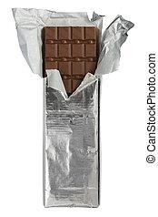 ホイル, バー, ラッパー, チョコレート