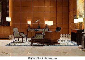ホテルのロビー, 上海, 陶磁器