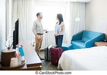 ホテルの部屋, 新婚者, 休暇