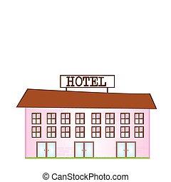 ホテル, 漫画
