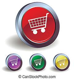 ボタン, 買い物カート