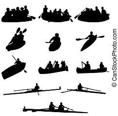 ボート競技, シルエット, コレクション