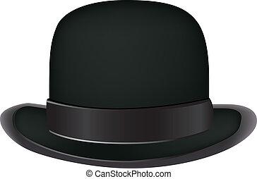 ボーリング競技者帽子