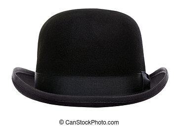 ボーリング競技者, 切口, 帽子, から
