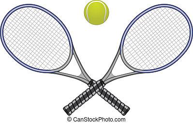 ボール, テニスラケット, &