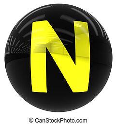 ボール, 手紙n