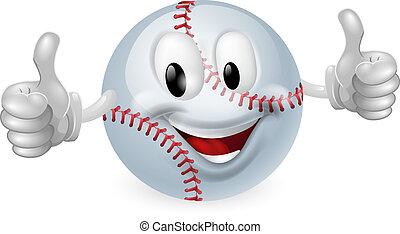 ボール, 野球, マスコット