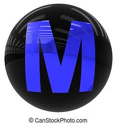 ボール, m, 手紙