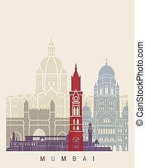 ポスター, スカイライン, mumbai