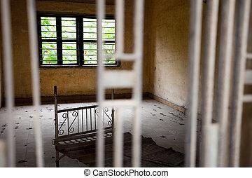 ポット, 細胞, pol, s21, 刑務所, 下に, 政体