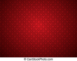 ポーカー, 赤い背景