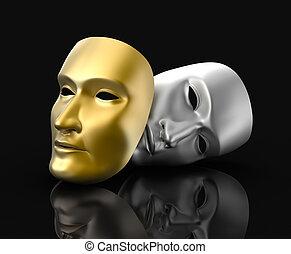 マスク, 概念, 劇場