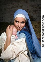 メアリー;バージン, 幸せ, 赤ん坊