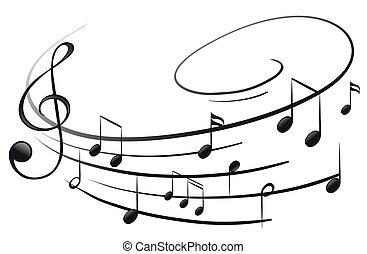 メモ, ミュージカル, g-clef
