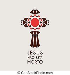 モザイク, キリスト, シンボル, イエス・キリスト, ベクトル