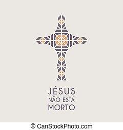 モザイク, シンボル, イエス・キリスト, ベクトル, キリスト