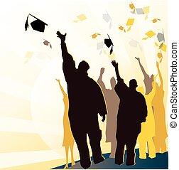 モルタル, 卒業証書, 卒業