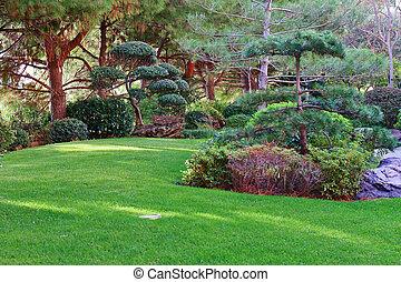 モンテカルロ, 日本の庭