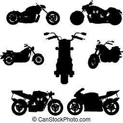 モーターバイク, (vector)