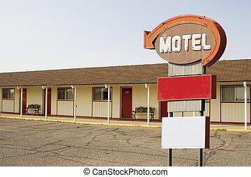 モーテルの 印