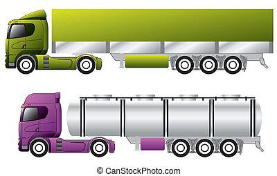 ヨーロッパ, トレーラー, トラック